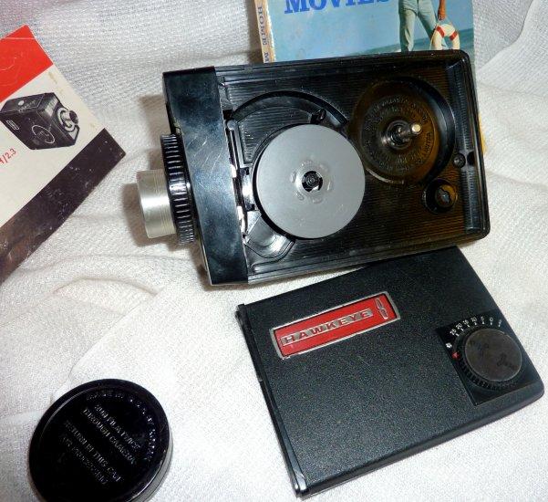 Kodak Hawkeye 8 Movie Camera 1963