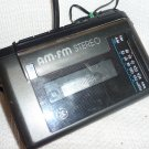 GE Cassette AM/FM Player with Headphones