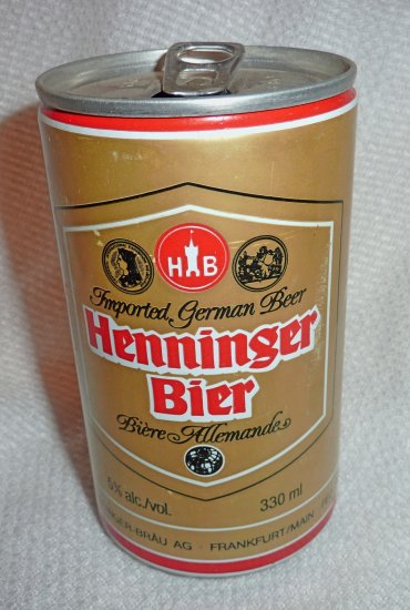 All Star Chevrolet >> Henninger Bier Pull Tab Beer Can