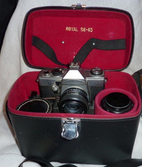 VINTAGE PRAKTICA LTL SLR film CAMERA Zeiss-Pentacon Zenuton + Lens 1:35 #55888