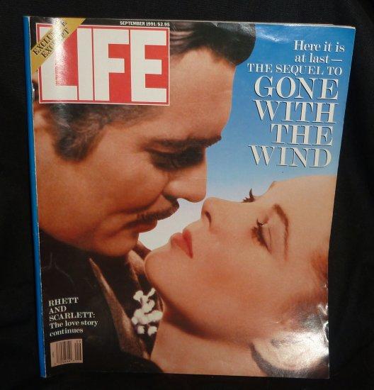 Life Magazine September, 1991 GONE WITH WIND RHETT SCARLETT