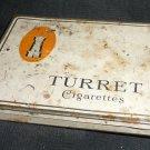 Vintage Turret Cigarettes 50 flat pack
