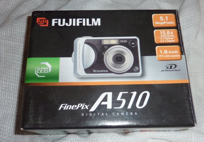 FUJIFILM Finepix A510 5.1 Megapixel Digital Camera  w/ 15.6x Zoom