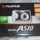 FUJIFILM Finepix A510 5.1 Megapixel Digital Camera  w/ 15.6x Zoom