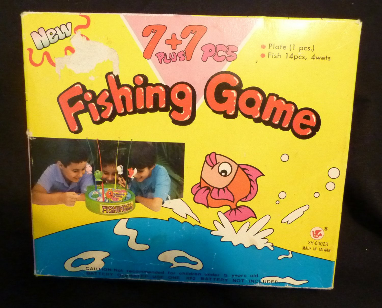 7 (plus ) + 7 pcs Fishing Game (Battery operated Toy)