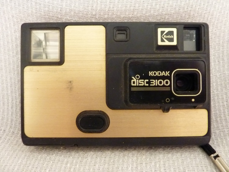 KODAK Disc 3100 Camera  1984  1987  VR disc