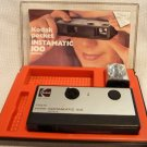 VINTAGE 1960's KODAK INSTAMATIC 100 CAMERA with CASE