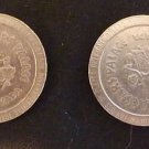 2 -Caesars Palace 1990 Casino Game tokens