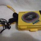 Magnasonic Stereo Auto Stop Portable Cassette AM/FM Player complete with Ear phones and Field Case