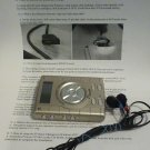 D'Music Mp3 player With Ear Buds and Instruction Booklet