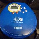 RCA 180 ESP-XTREME CD Player RP2442 (Blue)