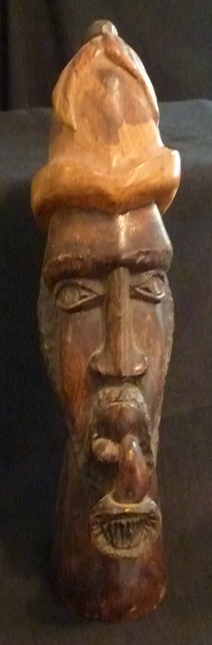 "Ironwood Police Bobby with a Pipe/Hat 14"" High"