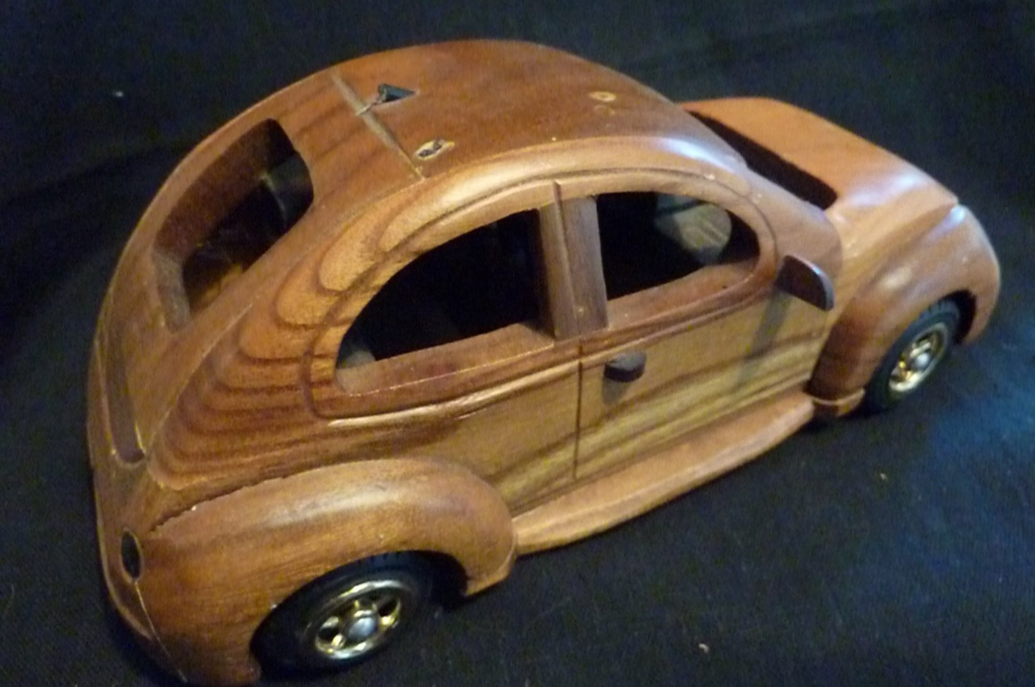 Volkswagon Wood Carving