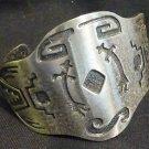Okanagan  First Nations Bracelet - Heavy Metal
