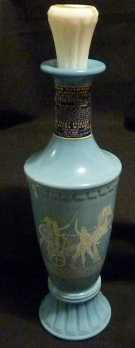 VINTAGE 1960 BEAM OLYMPIAN WEDGEWOOD BLUE DECANTER