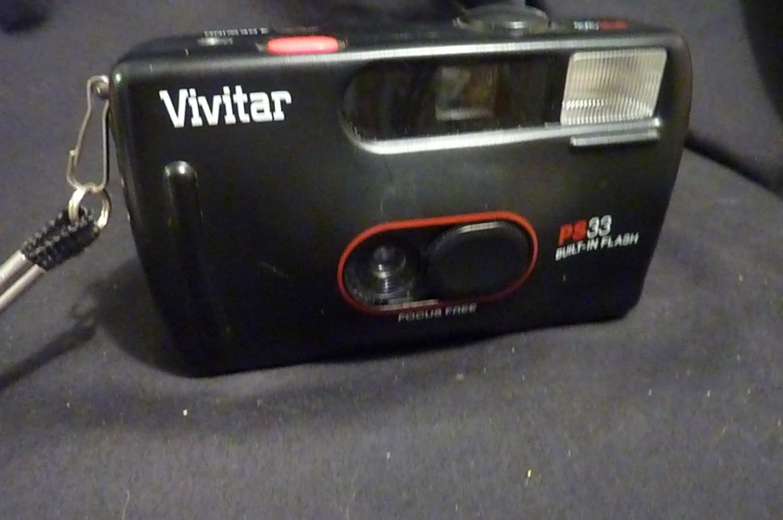 Vivitar PS:33 Point and Shoot Camera