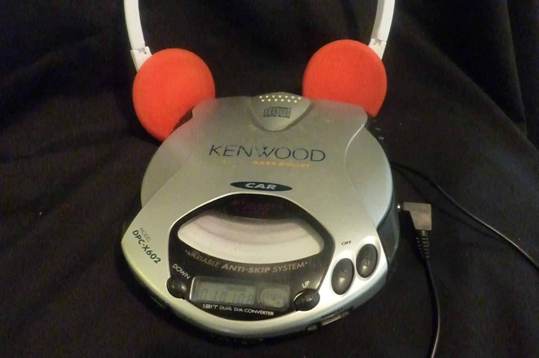 Kenwood Extra Bass Boost Digital Audio DPC-X602 Car Portable CD Player