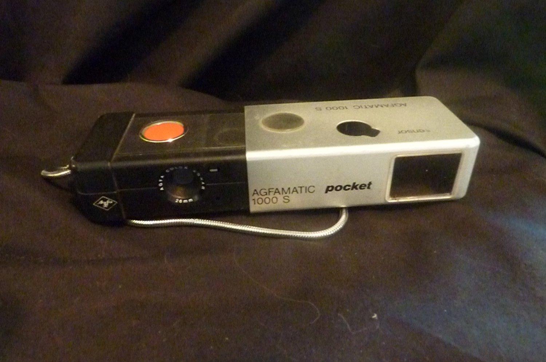 Agfamatic 1000S Pocket Sensor Camera