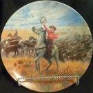"""Knowles Collector Plate """"Oklahoma"""" Mort Kunstler (Oklahoma Musical)"""