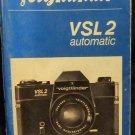 Voightlander VSL2 Automatic Manual