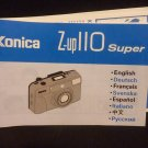 Konica Z-up110 Super Manual