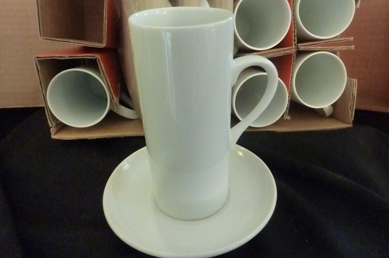 Schmid-60 Porcelain -6 piece Japanese Tea Cups and Saucers