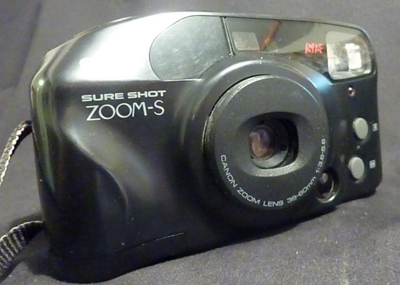 CANON SURE SHOT ZOOM-S 36-60 MM FILM CAMERA