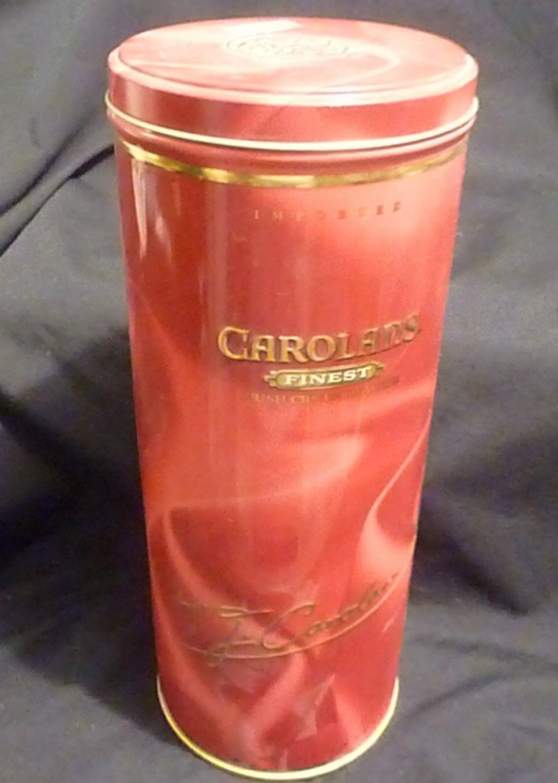 Carolans Finest Irish Cream Liqueur Empty Tin Container