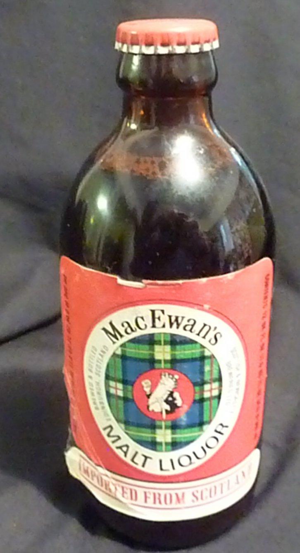 MacEwan's Malt Liquor Full* 12 UK fluid ounces C.1954