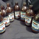 6-Labatt's Pilsner Beer 12 ounces Vintage Bottles