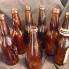 Empty Glass Beer Bottles (6 Long Neck - 1 stubby)
