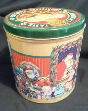 Baker's Estate Shortbread Cookie Private Recipe Cannister