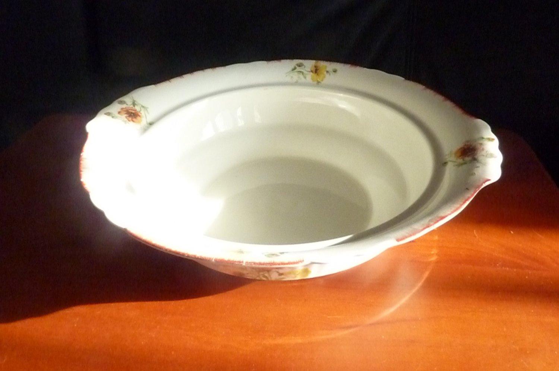 Myott 1931 Serving Bowl Rose Design