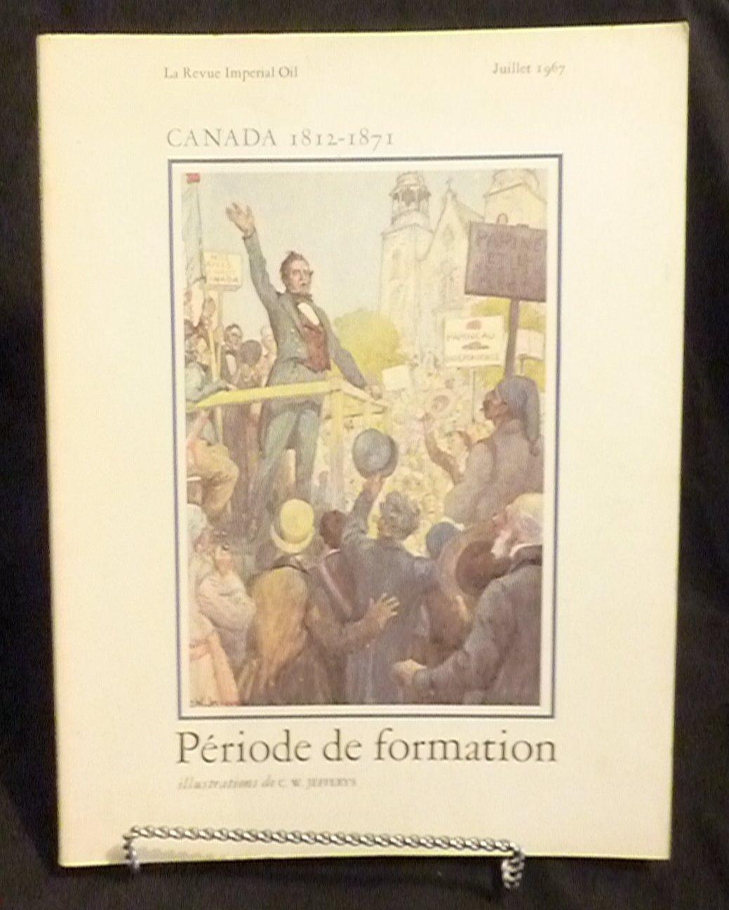 Periode de formation - La Revue Imperial Oil