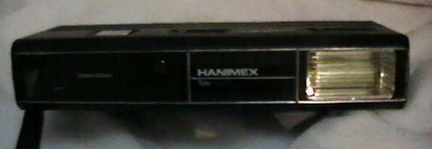 Hanimex Tele 110TF MOTOR WITH TELE AND FLASH VINTAGE POINT & SHOOT
