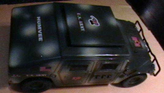 G. I. joe Hasbro electronic humvee vehicle 13 inch toy