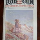 Rod and Gun  Canadian Silver Fox News April 1930