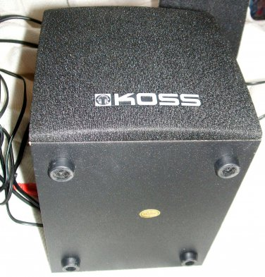 Koss SW21 Multimedia Speaker System with Subwoofer