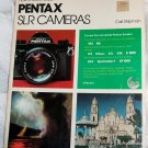 How to Select and Use Pentax SLR Cameras