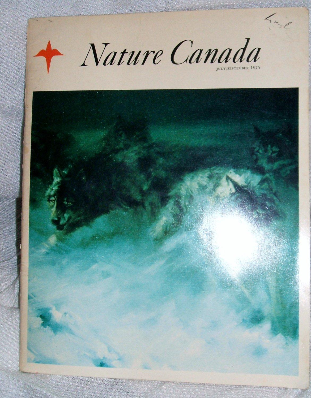 Nature Canada Magazine - July/September 1975 Paperback �