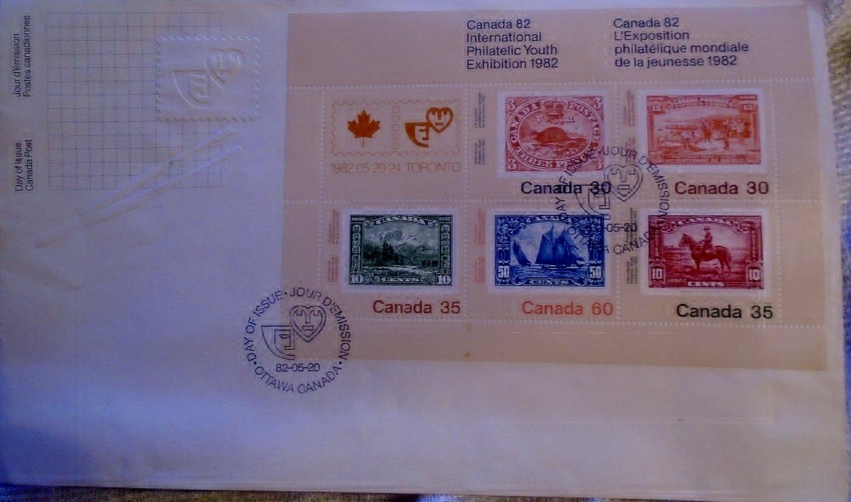 Canada 82 International Philatelic Youth Exhibition  1982