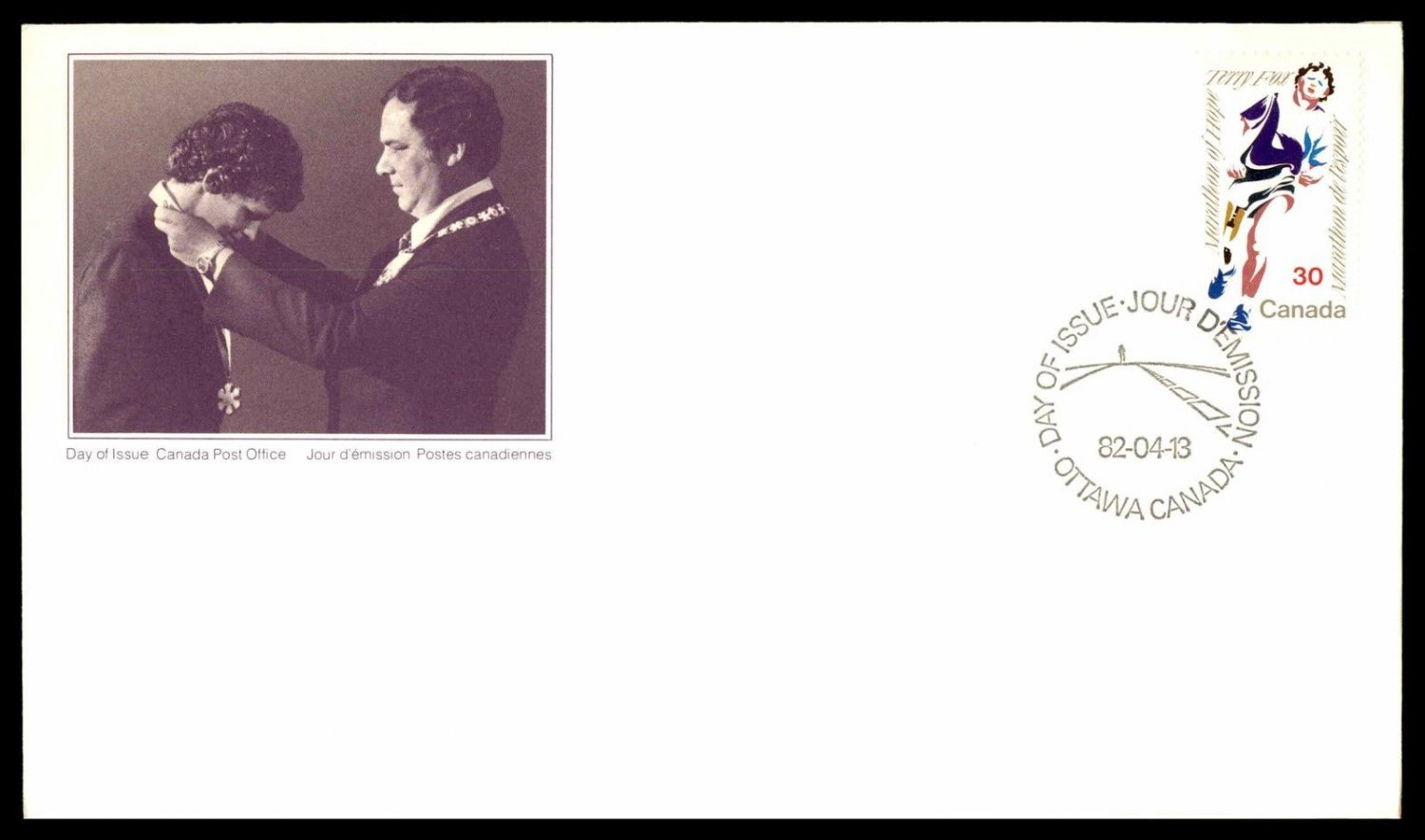 Canada - First Day Cover FDC - 1982 - TERRY FOX # 915