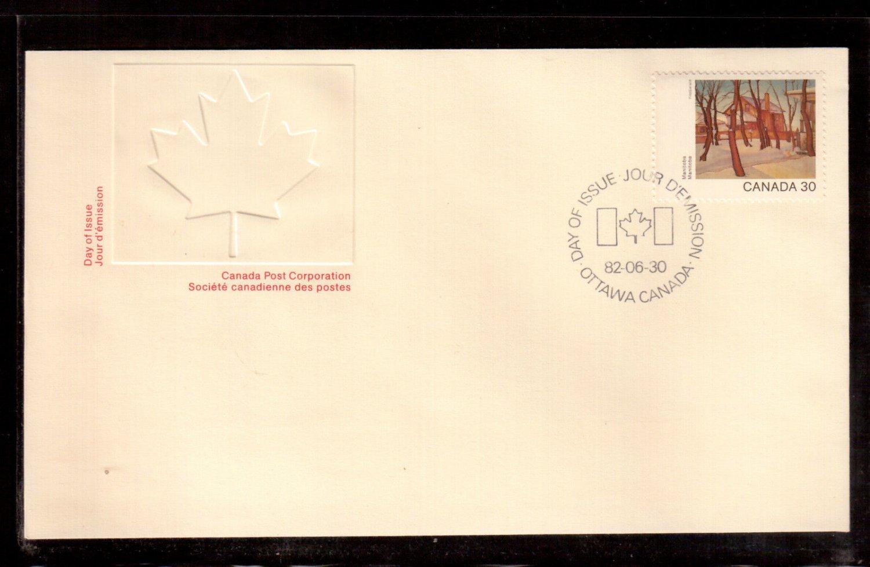 1982 Canada 30c OFDC # 966 MANITOBA