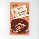 Baker's Favorite Chocolate Recipes -1958