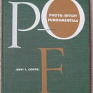 Photo Offset Fundamentals by John Cogoli 1960 1st First Edition HC Printing Book