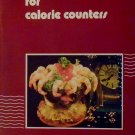 Seafood recipes for calorie counters Fisheries and Environment Canada 1977