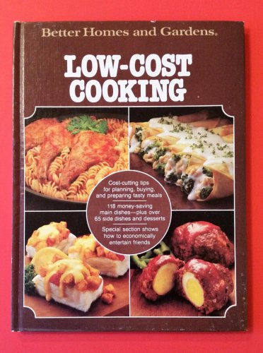 Better Homes & Gardens LOW COST COOKING Cookbook 1980 Hardcover Recipes
