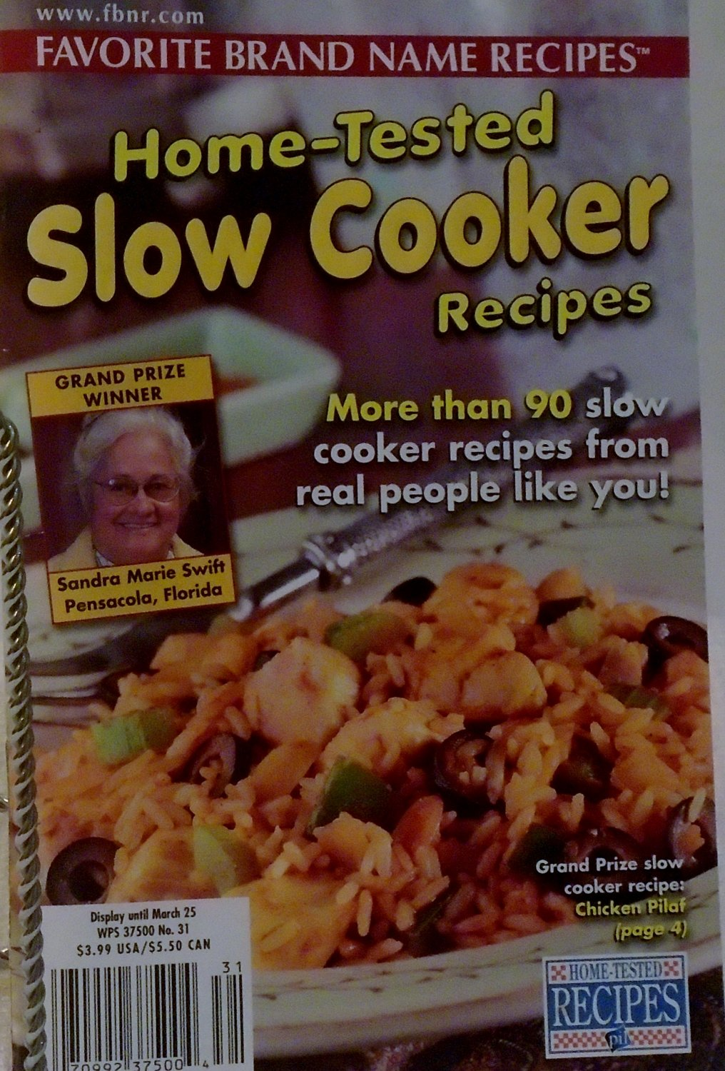 Home Tested Slow  Cooker Recipes vol. 7 No. 31 March 25, 2003
