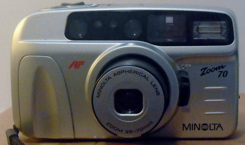 Minolta AF ZOOM 70 35mm Film Camera
