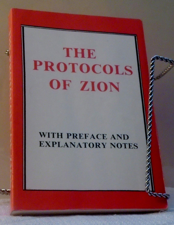 Protocols Of The Elders Of Zion by Marsden